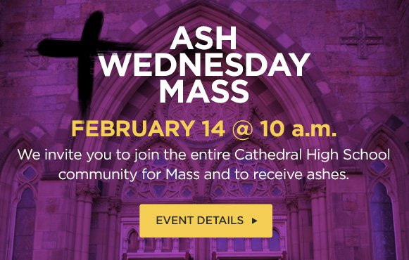 test Twitter Media - Join us at 10 a.m. in Our Lady's Chapel at @BostonCathedral for Ash Wednesday Mass and the imposition of ashes! https://t.co/YYG4JH3Svs