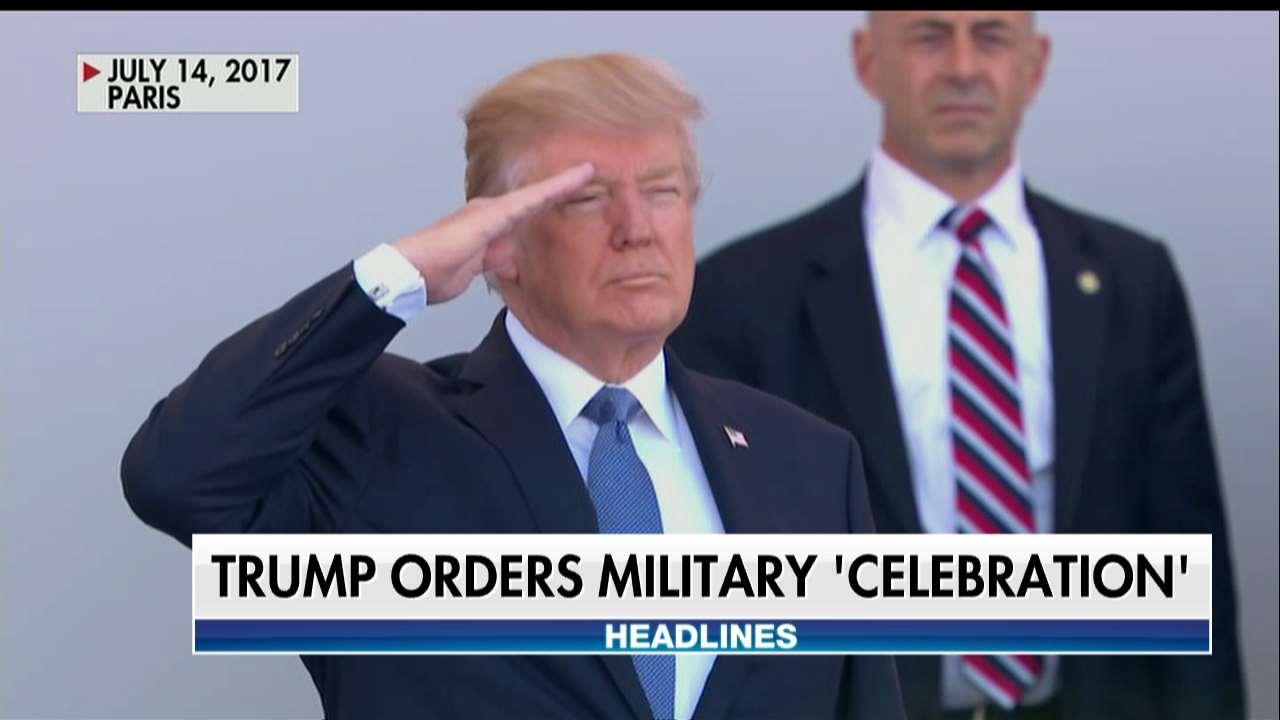 .@POTUS orders military 'celebration' https://t.co/MgqrL5yscK @foxandfriends https://t.co/dyYj8BZfZu