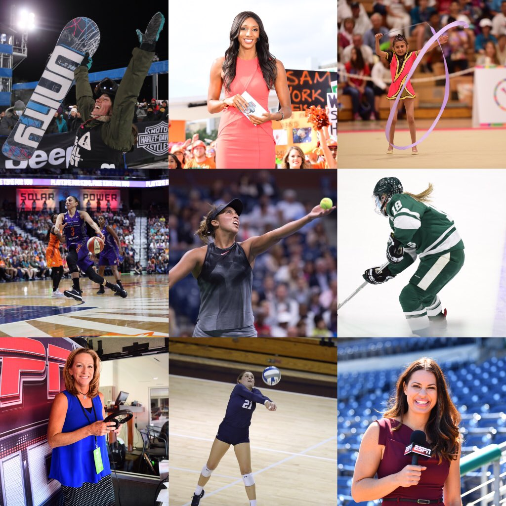 National Girls & Women in Sports Day!! #NGWSD https://t.co/Y0yzPzWnIe