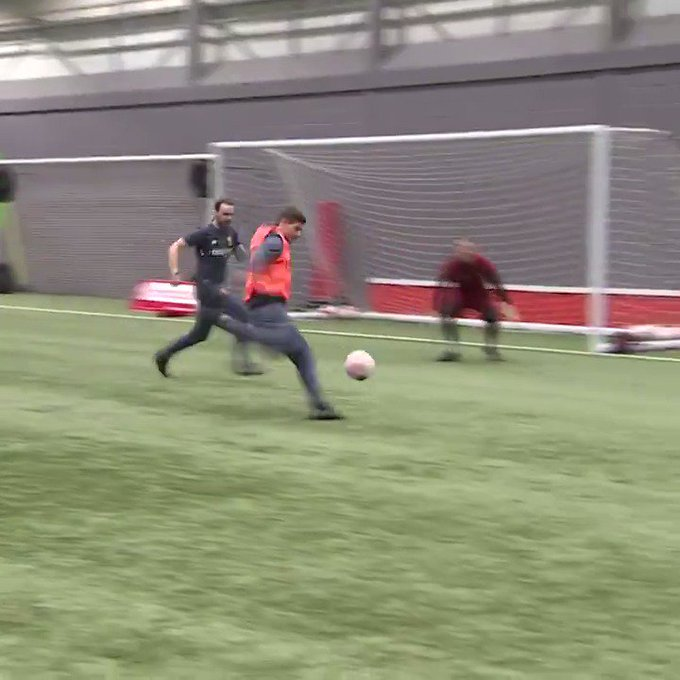 Happy Birthday Steve McManaman!! 46 today, and this week he did this...proof you never lose it