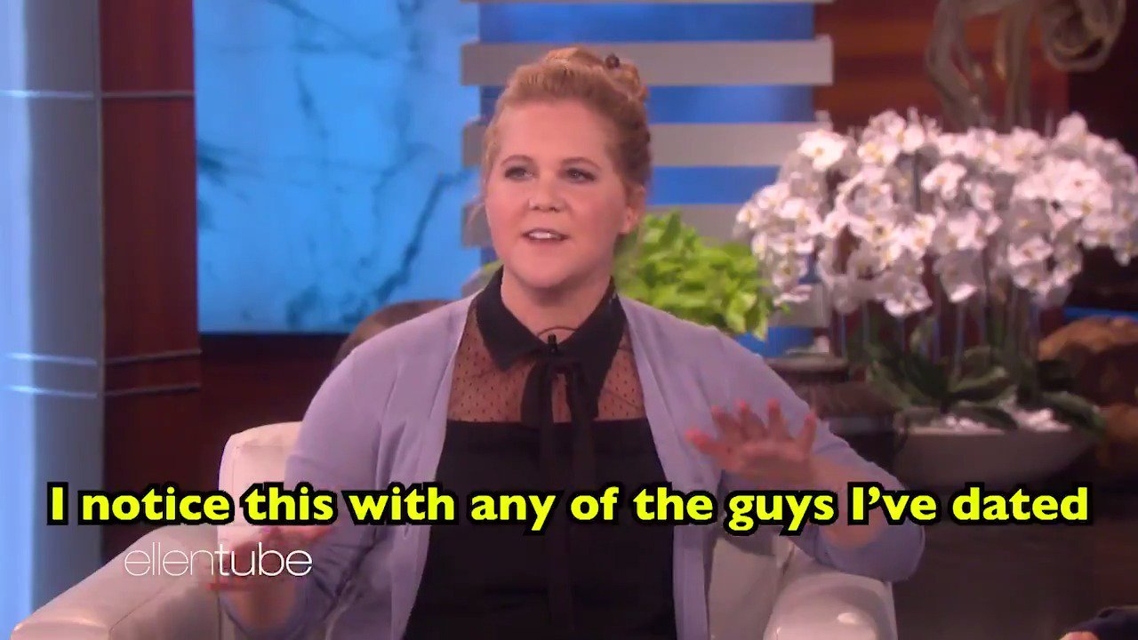 I never noticed it, but I definitely do this. @AmySchumer https://t.co/mPBGjTFl9V