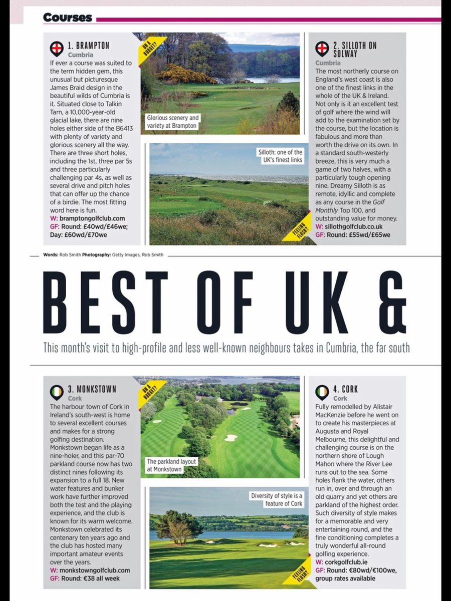 test Twitter Media - A fantastic review in this months Golf Monthly, all the hard work everyone is putting in is coming to fruition! Well done to all concerned at BGC! 🏌🏻🏌🏻🏌🏻 https://t.co/akxZLAk2p6