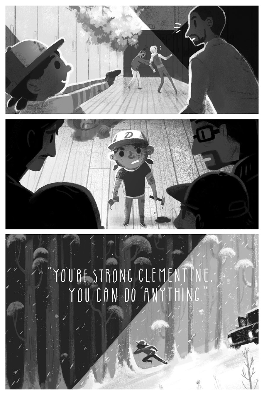 You can do anything. #MondayMotivation  (Art by Olivia Huynh: https://t.co/MN2p4BFKVM, @usuallyawake.) https://t.co/rQ3wPL9Sq8