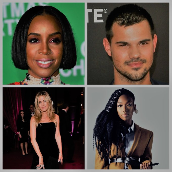 Happy birthday Kelly Rowland, Taylor Lautner, Jennifer Aniston & Brandy!