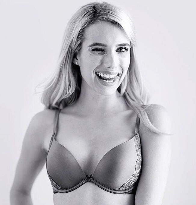 Emma Roberts  happy birthday to her as well