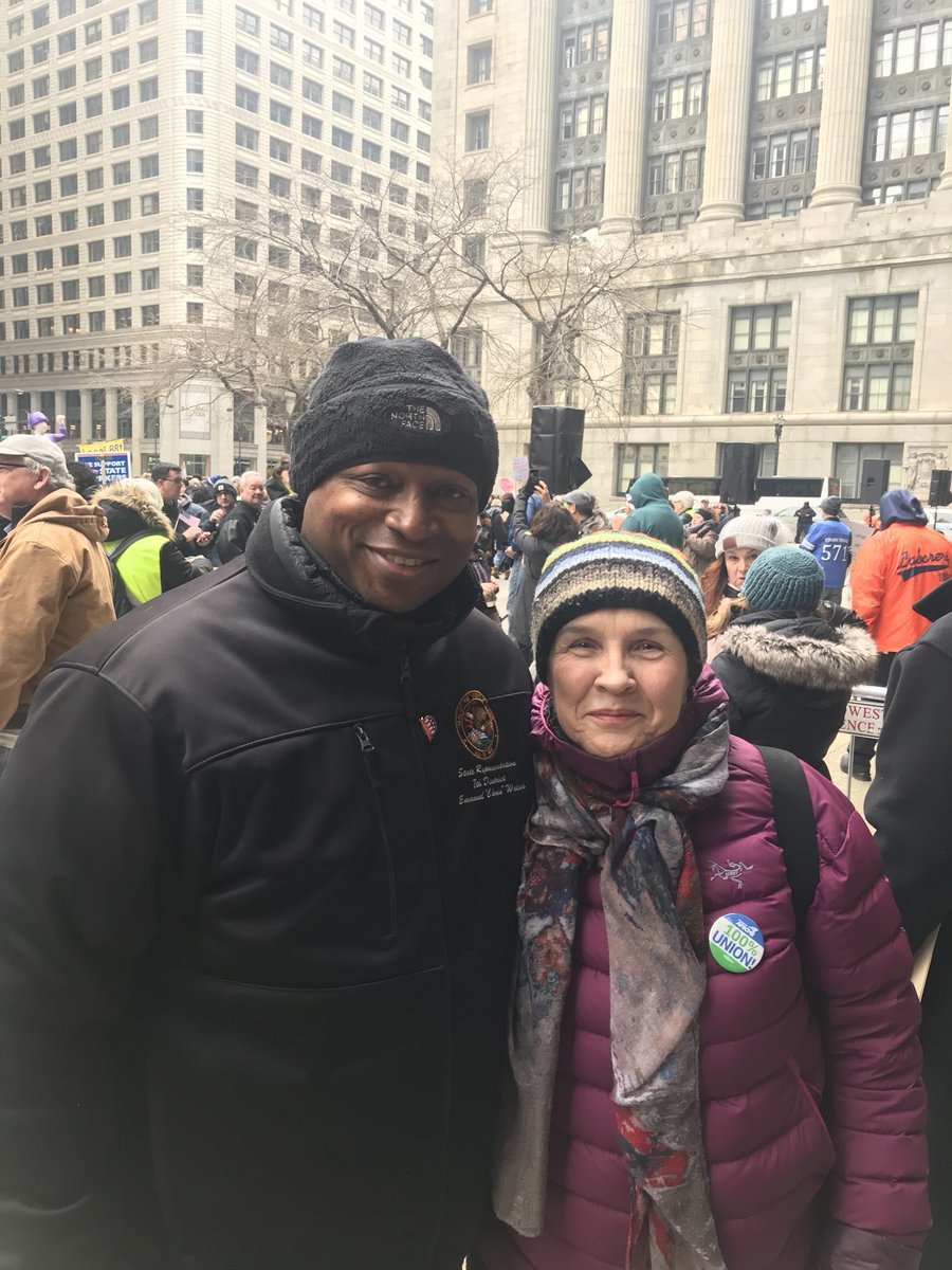 test Twitter Media - Out here supporting the men and women in labor at the Working People's Day of Action!  #unrig the system! https://t.co/70KdNtvxj0