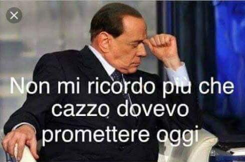 #PrometticomeSilvio