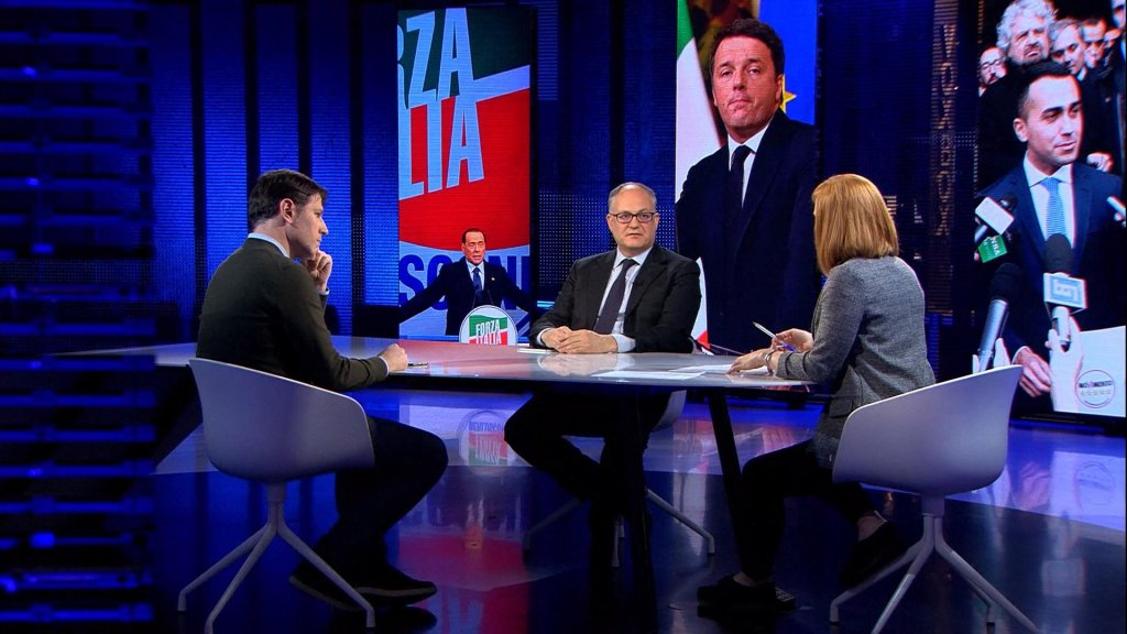 Populism, violence and Euroscepticism in Italy's election campaign