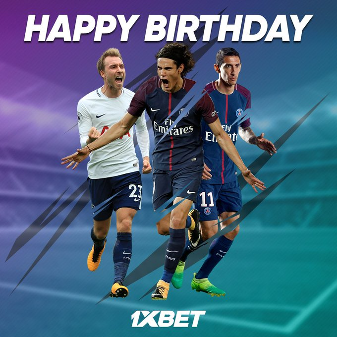 Other ballers were born this day! Happy birthday Kristian  , Angel  and Edinson  !