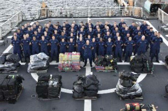 Wilmington-based Coast Guard cutter helps in $190M cocaine seizu - | WBTV Charlotte