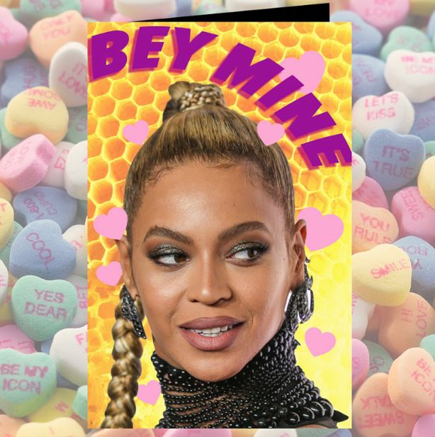 Valentine, you're the Queen Bey! ? ? @Beyonce