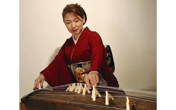 """test Twitter Media - This Friday, watch Masayo Ishigure stretch the limits of the koto in her performance of """"Koto 360.""""8pm, Crowell Concert Hall, Friday 2/16! Discounted student tickets are available at the Box Office. @WesCFA https://t.co/sCi7Lz05If https://t.co/GSPKM820Bq"""