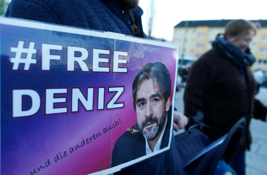 Turkey indicts journalist Yucel, decides to free him pending trial: agency