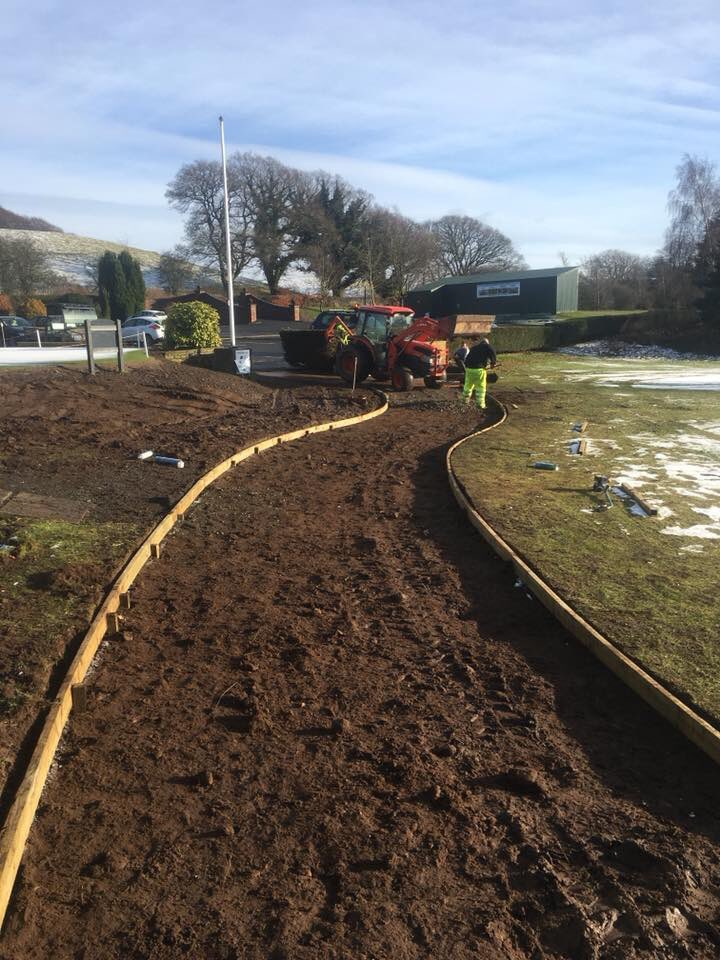test Twitter Media - BGC greenstaff been busy this week making a new buggy path to the first tee. An excellent job and should make a big difference for buggy users getting on and off the course. 🏌🏻🏌🏻🏌🏻🏌🏻 https://t.co/UOeAM3UuvM