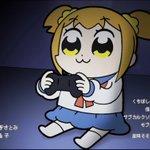 RT : 子供に見せたくないアニメが 共闘した記念すべき瞬間 #ポプテピピッ...