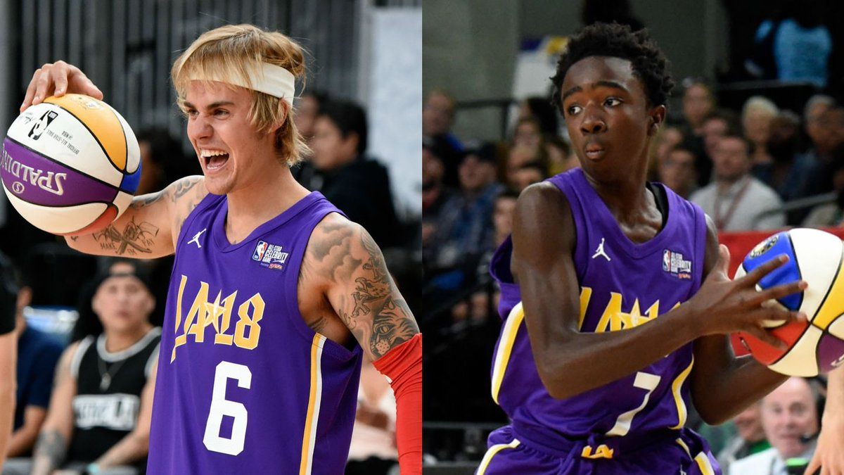 Justin Bieber Playfully Shaded A Stranger Things Star Before The NBA Celebrity All-Star Game