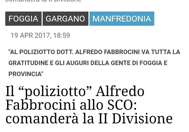 #commissari