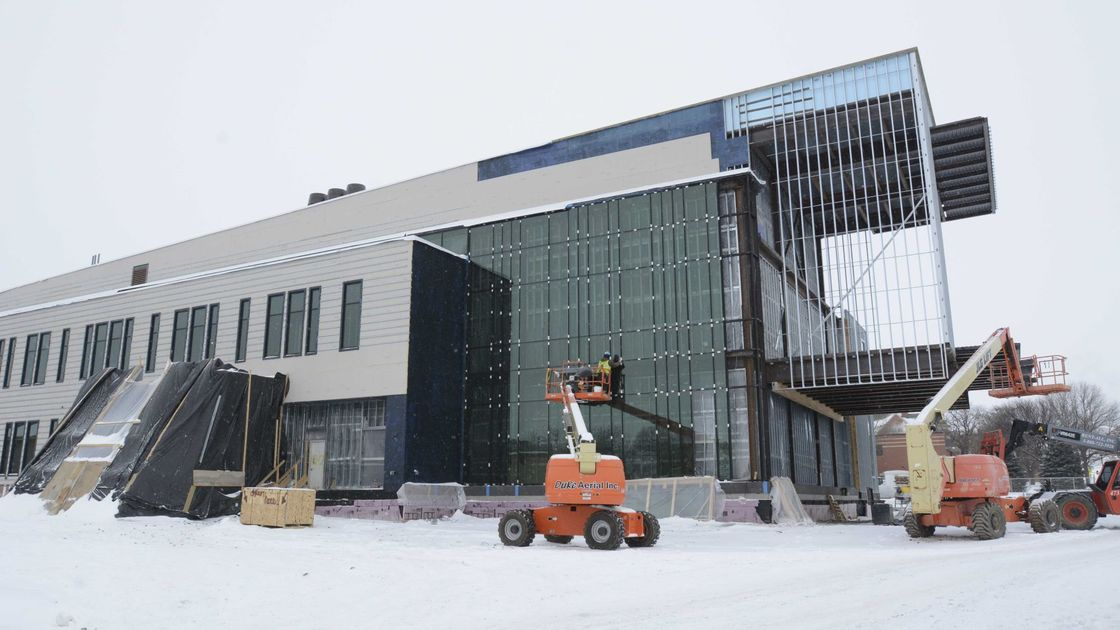New Northwestern College science building set to open in fall