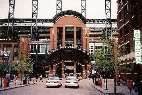 Coors Field, Home of the Colorado Rockies for a Game Between the Colorado Rockies and the Atlanta Braves – Atlanta Picture https://t.co/ZIKgeTidn9 https://t.co/PEgRTgBOfF