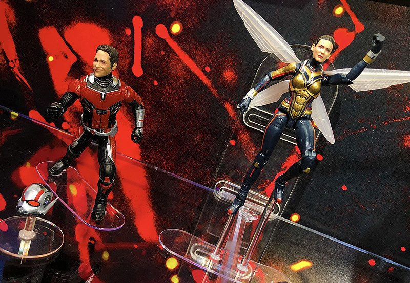 Hasbro Marvel Toy Fair Gallery with Ant-Man and The Wasp & More! - https://t.co/UY5hluigUe https://t.co/j62fSkVCRc