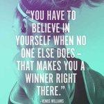 RT : Believe in your damn self! 🙌...