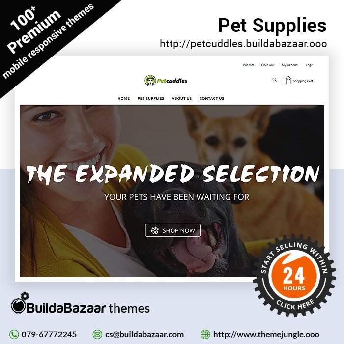 test Twitter Media - Make it easy for your customers to buy the pet supplies online. Create your website today in just 24 hours from BuildaBazaar's SaaS platform. #infibeam #buildabazaar #themejungle  #buildabazaarthemes #ecomercethemes #websitethemes https://t.co/fwbdo6S5qR https://t.co/kB2jb84wOK