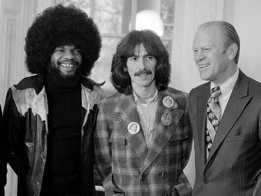 President Ford with Billy Pres billy preston