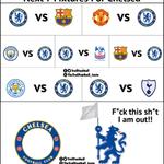 RT : Next 7 Fixtures For Chelsea htt...