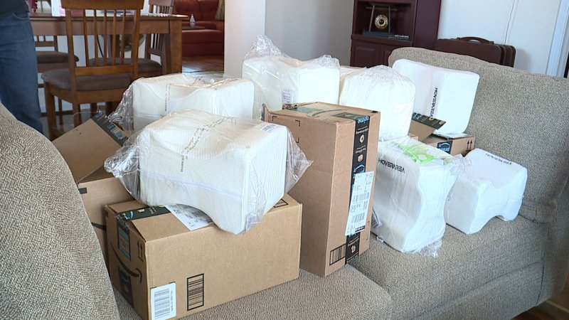 Couple worried mystery Amazon packages could be tied to international 'brushing' scam