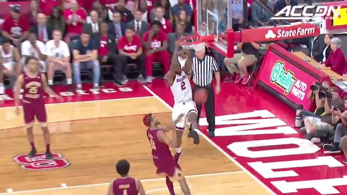 RT @theACCDN: .@PackMensBball's Markell Johnson connects with Torin Dorn for a 🔥 #MustSeeACC moment. https://t.co/RWtZBfEVxD