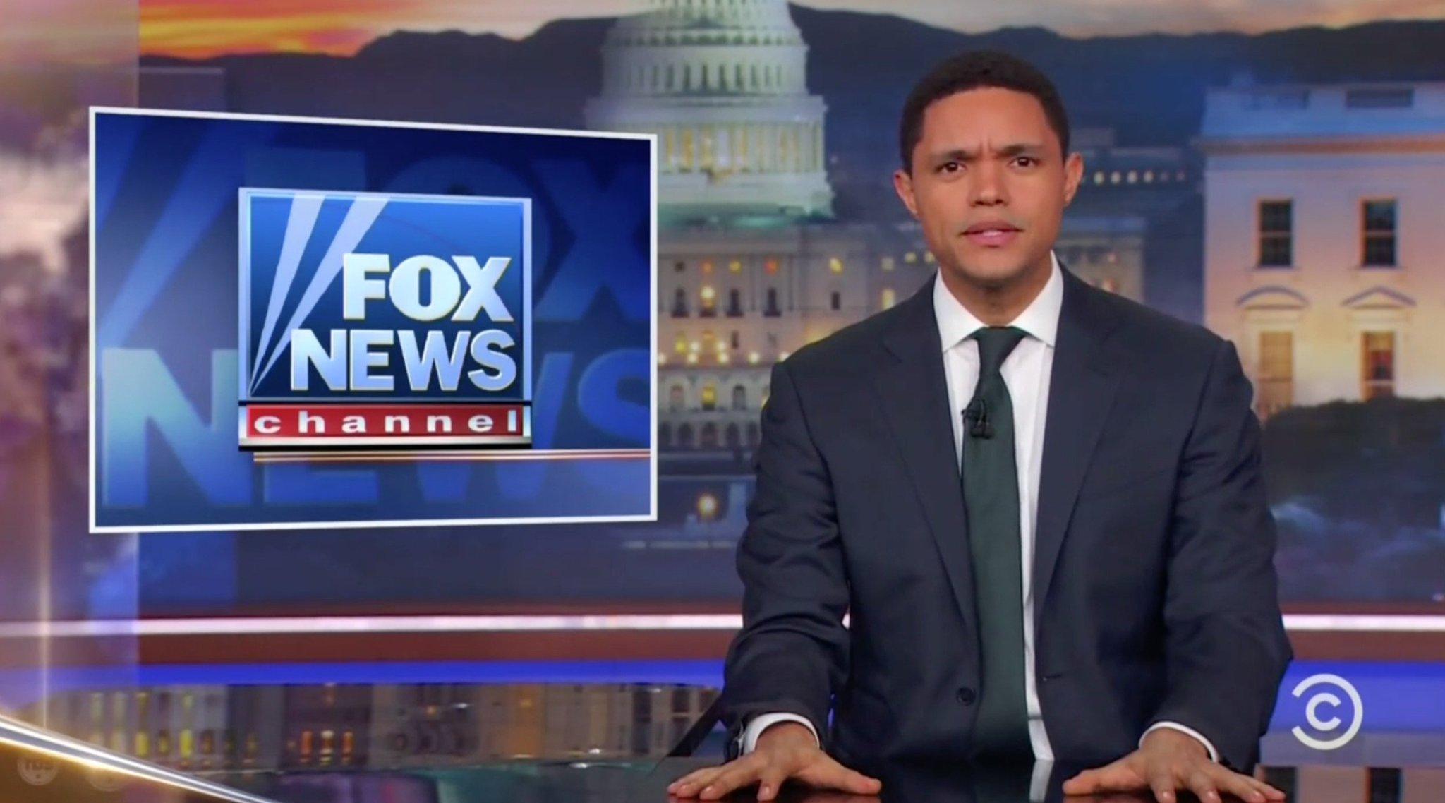 Trevor Noah Tells Fox News to 'Shut Up and Dribble' For Not Addressing Gun Control https://t.co/agTC807Qfs https://t.co/uqbR0Qrjr4