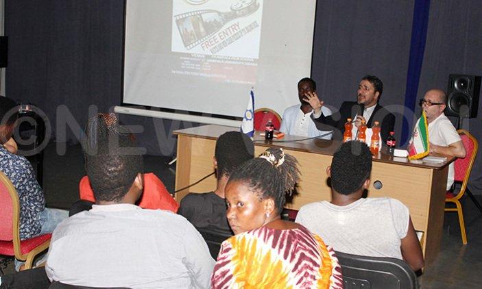 Iranian film festival discusses Ugandan film growth