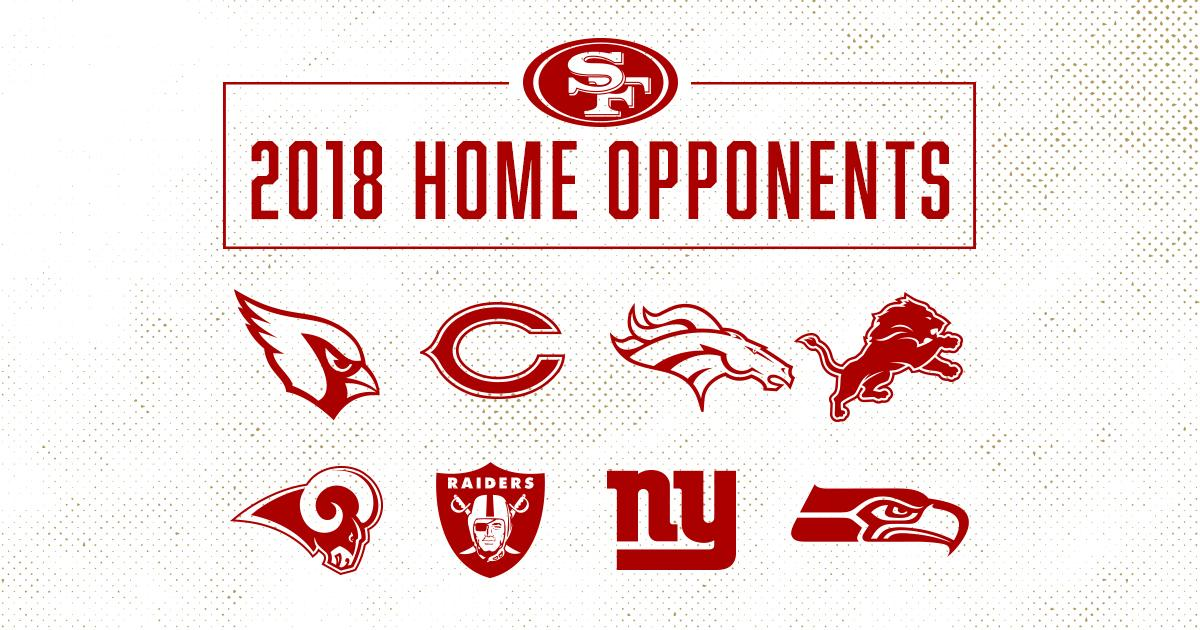 The #49ers enter the 2018 season with the 15th toughest schedule.   ��: https://t.co/V1OAuuqTyj https://t.co/UbvOFuA3iS