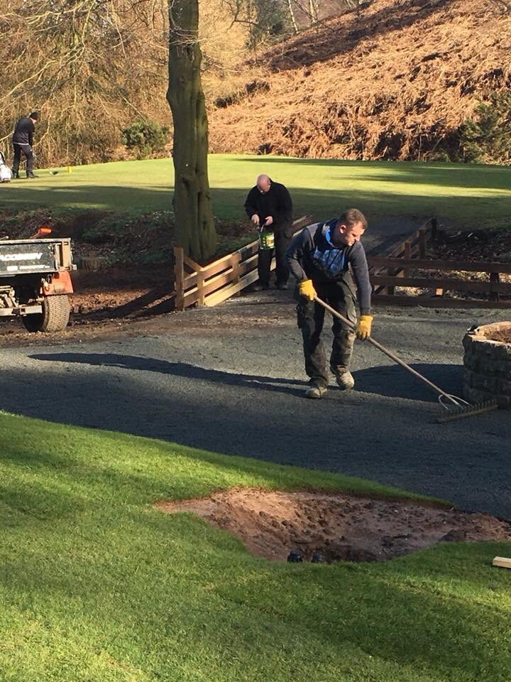 "test Twitter Media - Great work done by the BGC greenstaff turning circle for the 4th tee along with ""wishing well"" and newly laid 4th tee. Well done fellas!! 🏌🏻🏌🏻🏌🏻 https://t.co/XSS7Vf9eWE"
