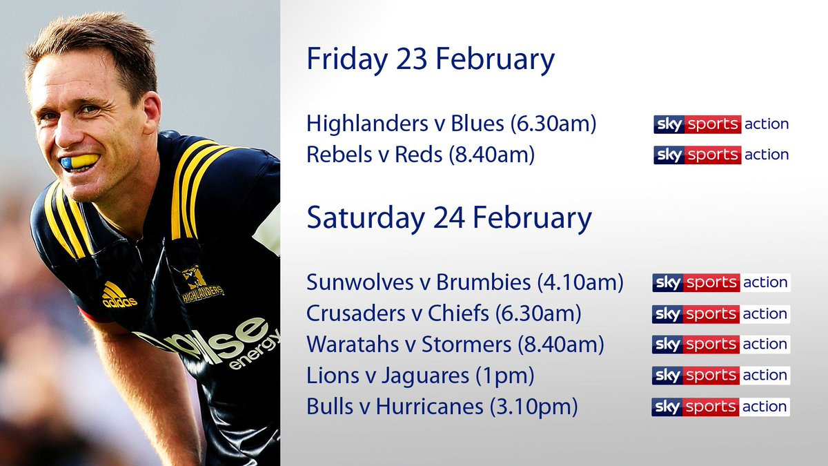 test Twitter Media - There are plenty of exciting clashes as @SuperRugby Round 2 kicks off tomorrow morning, and there's also the return of Ben Smith! https://t.co/KTwNuDkrZ4