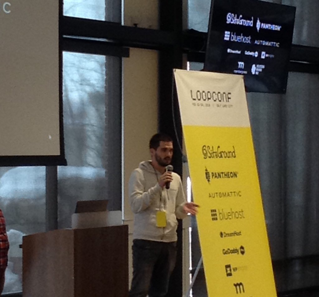 test Twitter Media - Ivan has just given a brief introduction of our Enterprise solution. Stop by our booth to learn more. #loopconf @loopconf https://t.co/1Z9CevsWzO