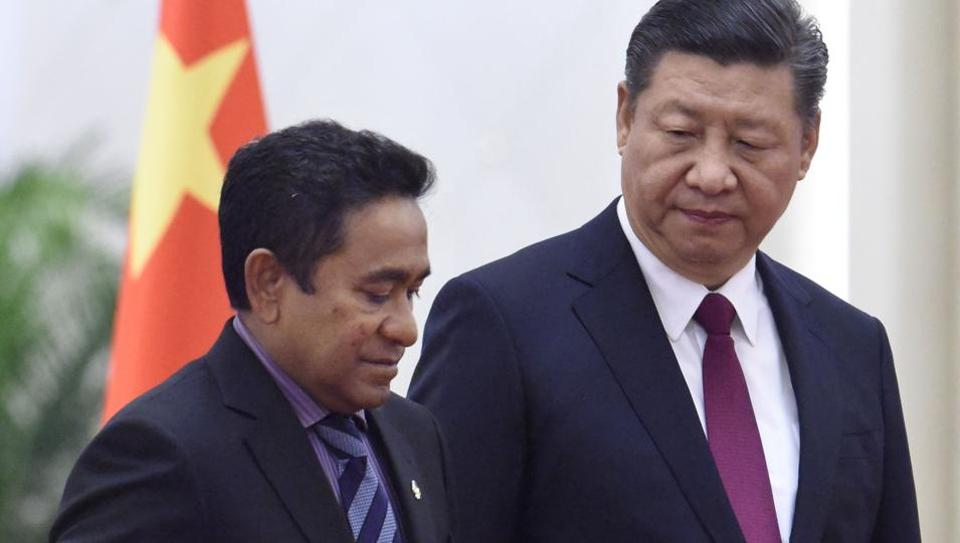 China's growing ties with Maldives gives India the jitters