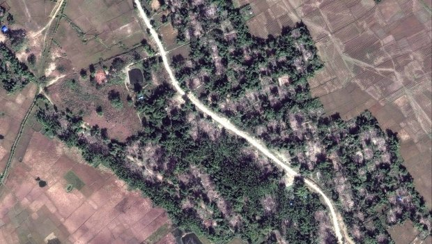 Myanmar bulldozes what is left of Rohingya Muslim villages