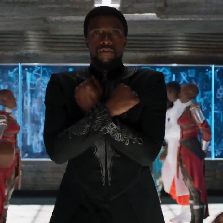 Experience the phenomenon. Marvel Studios' #BlackPanther is now playing: https://t.co/VrkPIsC3MG https://t.co/67SUfLntwN