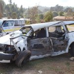 Three family members killed as Probox collides with matatu in Magina, Lari