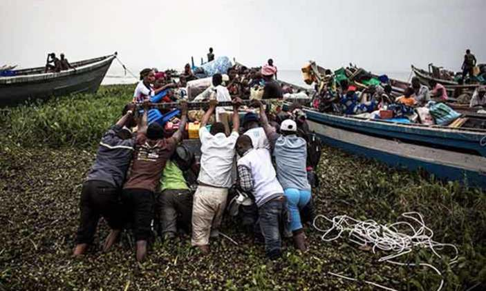 Seven drown fleeing DR Congo violence