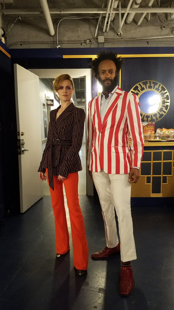 RT @MusicNegrito: Stayin backstage @DavidBowieReal tribute with @evanrachelwood https://t.co/dStwi0R3Pb