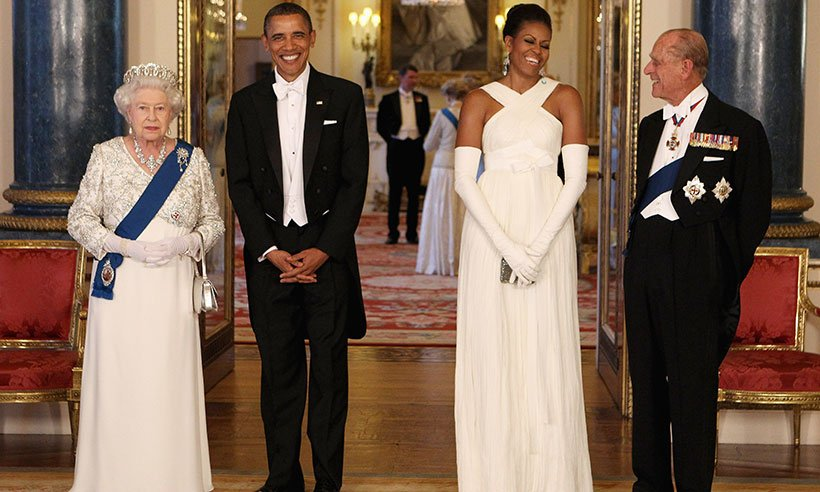 Michelle Obama reveals everything about her and Barack's Buckingham Palace sleepover: