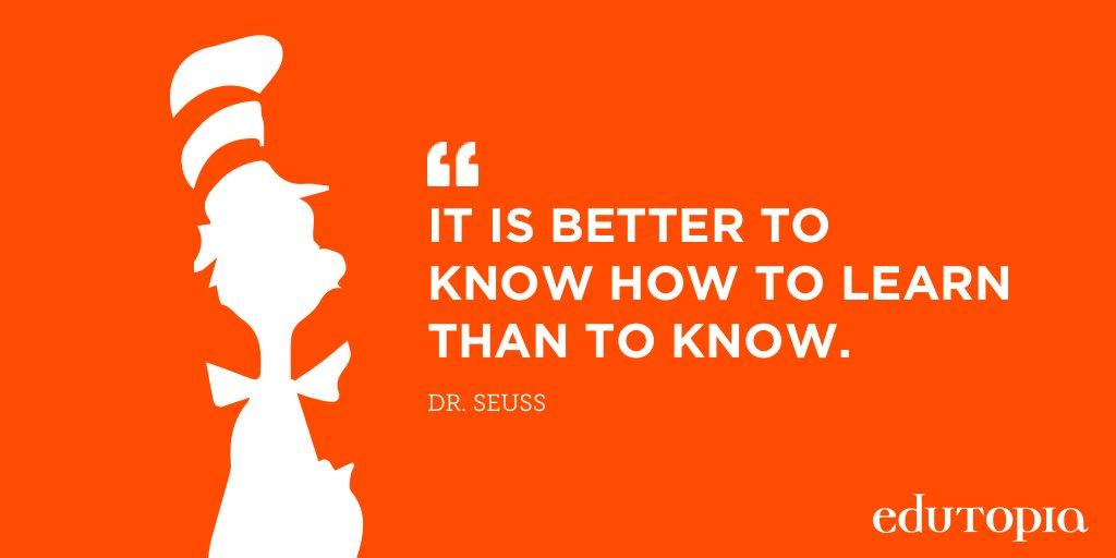 Happy Birthday, Dr. Seuss! https://t.co/IBn2ewf1vP