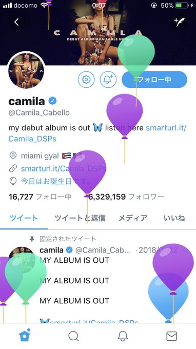 Happy BIRTHDAY camila