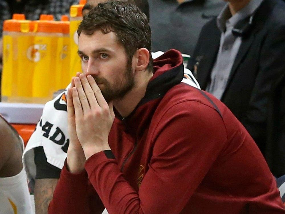 Cavs' Love discloses bouts with panic attacks, mental health