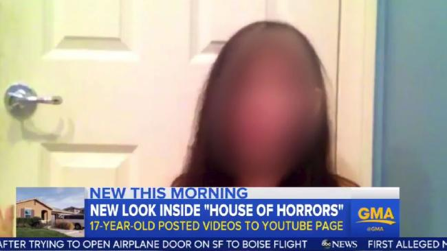 Turpin family House of Horrors: Teen girl had uploaded secret YouTube videos before escaping