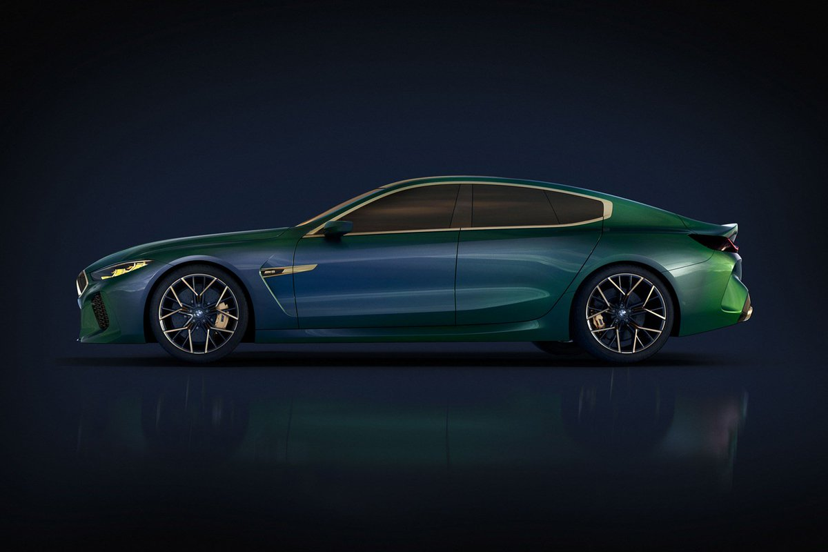 Munich's new monster: this is the new BMW concept M8 Gran Coupe