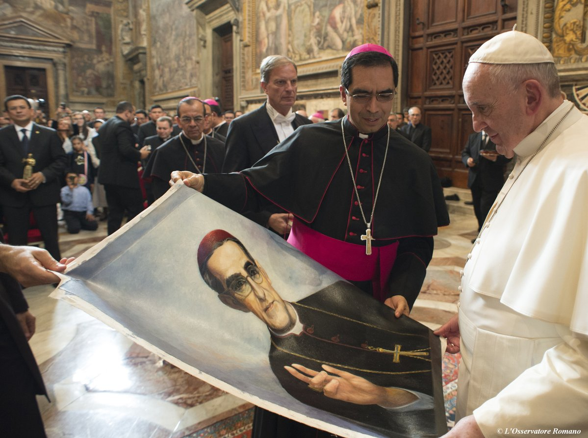 Pope approves sainthood for slain Salvador Archbishop Romero