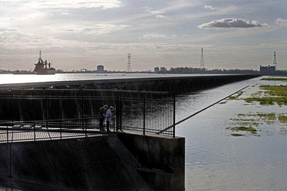 Easing pressure on levees, raising environmental worries